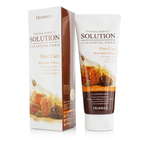NATURAL PERFECT SOLUTION CLEANSING FOAM PORE CARE