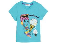 702-5 футболка детская, голубая