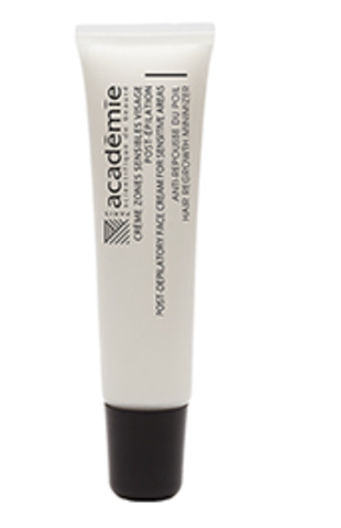 Academie Post-Depilatory Face Cream For Sensitive Areas