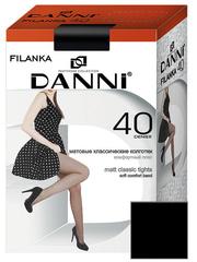DFL311-40 FILANKA колготки жен. Черные