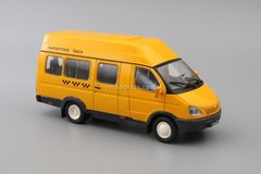 GAZ-322133 Gazelle SemAR-3234 Route taxi 1:43 DeAgostini Auto Legends USSR #246