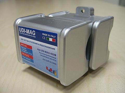 """Магнитный преобразователь воды UDI - MAG 400M 1"""" - 1/4"""" для стальных труб НАКЛАДНОЙ"""