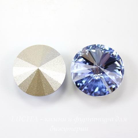 1122 Rivoli Ювелирные стразы Сваровски Light Sapphire (SS47) 10,54-10,9 мм