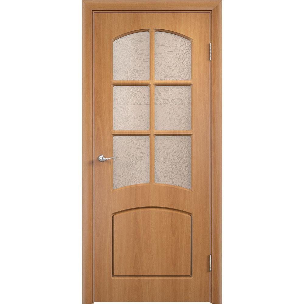 Двери ПВХ Кэрол  миланский орех со стеклом kerol-po-milan-oreh-dvertsov-min.jpg