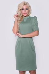 """Вот так выглядит идеальное платье! Приталенный силуэт, модная горловина, рукав - """"грибок"""", функциональные карманы - всё это в одной идеальной модели. Длина: 44-50р - 97-100см"""