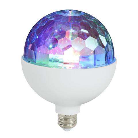 Светодиодный диско шар лампа e27 - Led crystal magic ball light c bluetooth