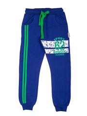 BK468P-1 спортивные брюки детские, синие