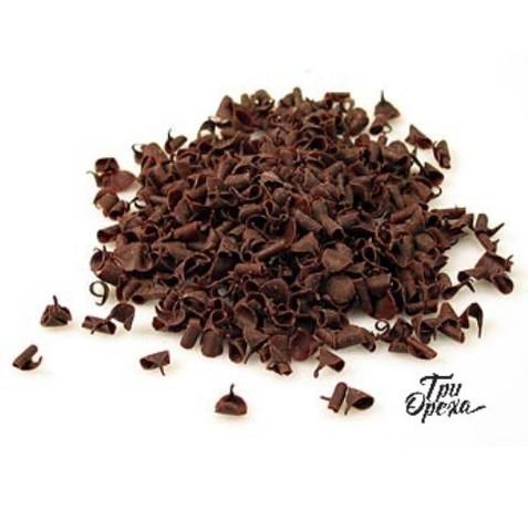 Завитки (стружка) из темного шоколада Barry Callebaut, 200 гр.