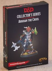 D&D Collector's Series - Arkhan the Cruel Dragonborn New Sculpt with Necro Hand