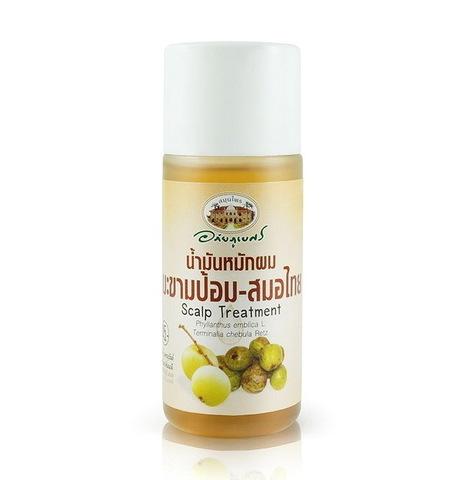 Масло для укрепления волос Abhaibhubejhr, 45 гр