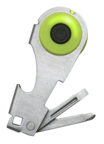 Набор карманный инструментов Swiss+Tech Key Light Driver with Bottle Opener
