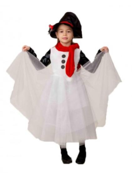 Карнавальный костюм детский  Снеговик Снеговушка
