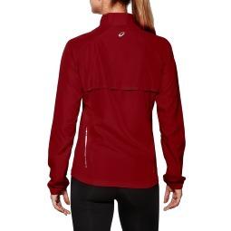 Женская ветровка Asics Woven Jacket (110426 6010) бордовая