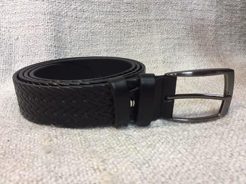 Ремень Doublecity RR35-01-06 с декоративным тиснением черный