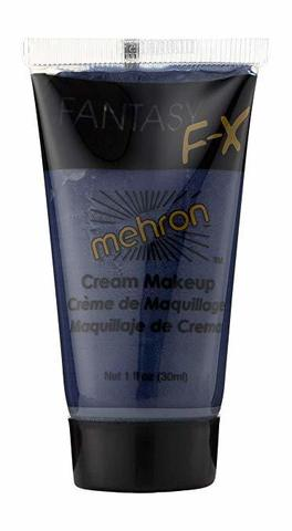 MEHRON Грим на водной основе Fantasy FX,  Navy Blue (Морской), 30 мл
