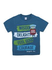 BK002F-70 футболка для мальчика, синяя