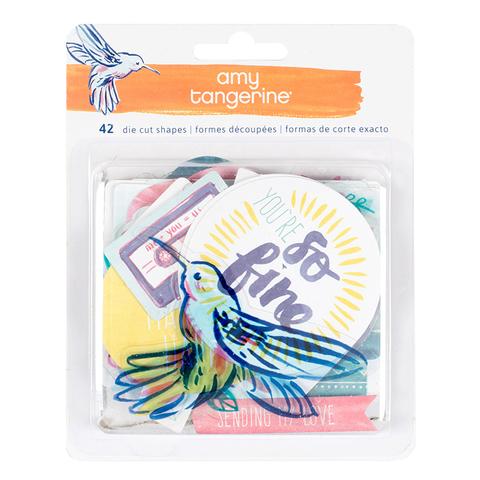 Высечки  из коллекции  Amy Tangerine Better Together