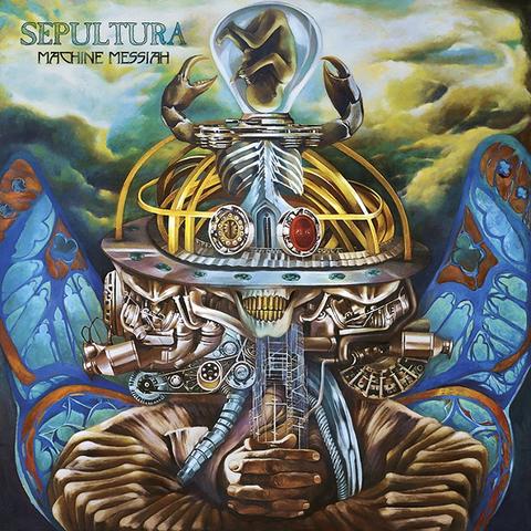 Sepultura / Machine Messiah (RU)(CD+DVD)