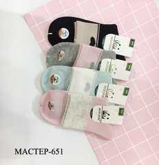 Носки для девочек ( 12 пар) арт.651 ( р 36-40 )