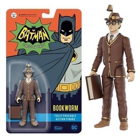 Bookworm Batman Classic TV Series    Книжный червь  (потертый блистер)