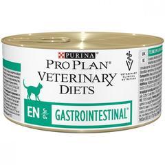 Консервированный корм для кошек, Purina Pro Plan Veterinary Diets FELINE EN Mousse, при расстройствах пищеварения