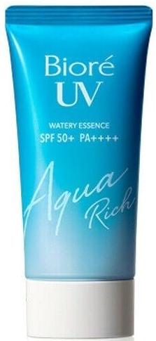 Biore UV Aqua Rich Watery Essence SPF50+ солнцезащитная эссенция для лица