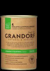 Grandorf Lamb & Veal консервы для собак Ягненок и Телятина