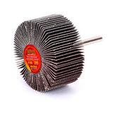 Круг MESSER шлифовальный лепестковый с оправкой (на шпильке) 60х30х6  #100