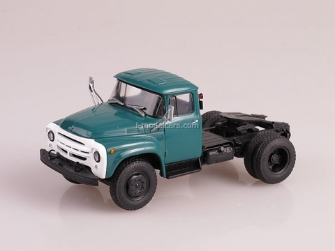 ZIL-130V1 Tractor unit blue-green 1:43 AutoHistory