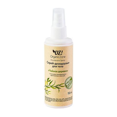 Дезодорант для тела Чайное дерево   Organic Zone