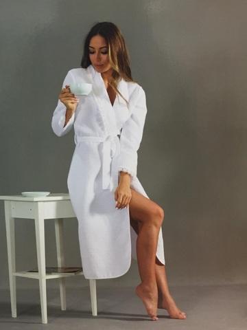 EMMANUEL - ЭММАНУЭЛЬ женский вафельный халат Maison Dor Турция