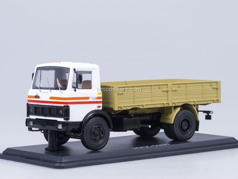 MAZ-5337 board early Autoexport Start Scale Models (SSM) 1:43