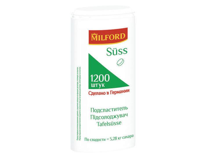 Заменитель сахара Milford SUSS (1200 таблеток)