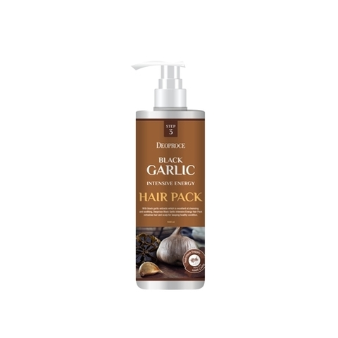 BLACK GARLIC INTENSIVE ENERGY HAIR PACK