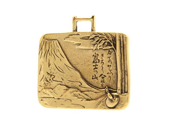 Восточные украшения Улитка на склоне Фудзи кулон RH-1201.jpg