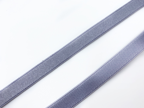 Резинка бретелечная лиловая 10 мм