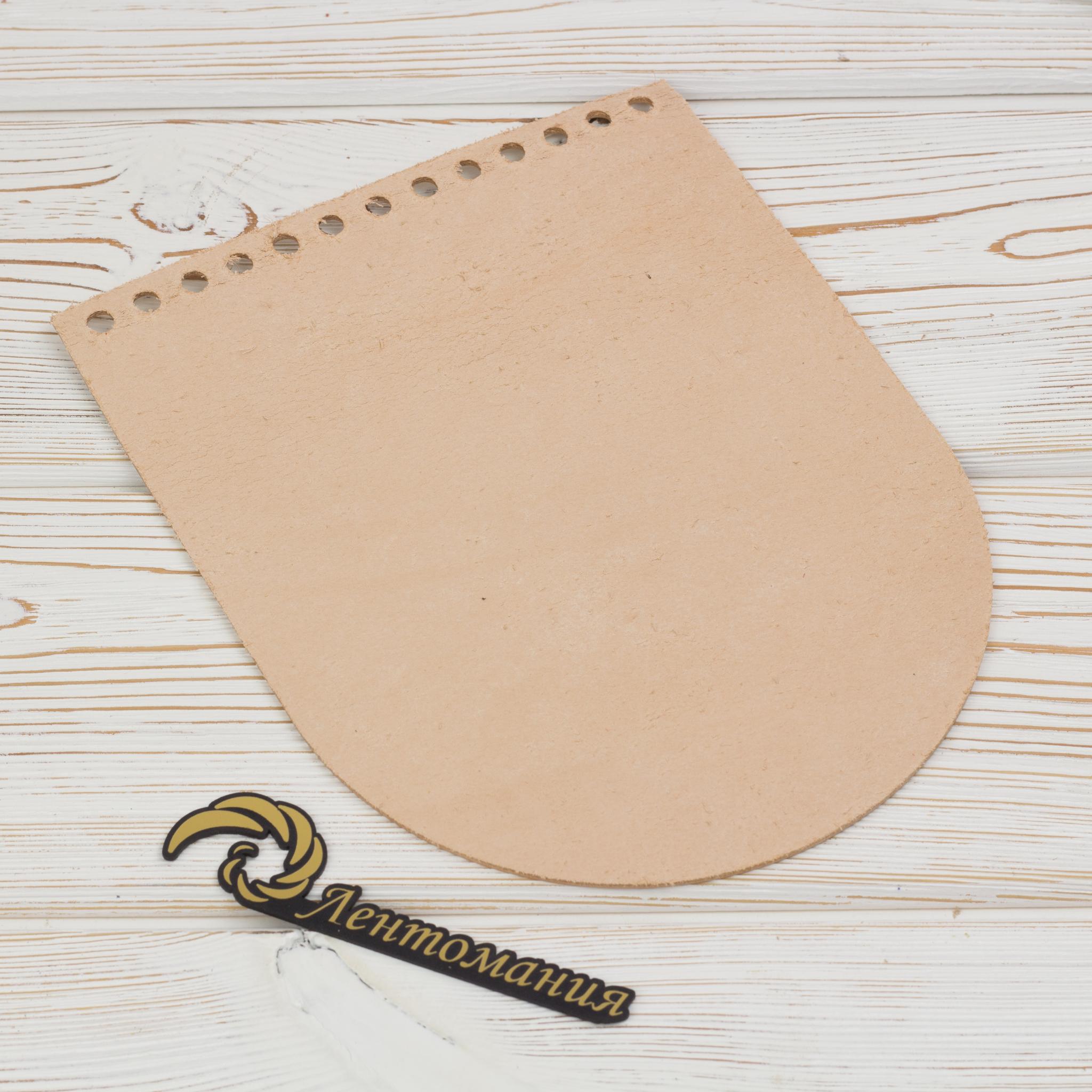 """Клапаны для сумки Клапан для сумочки кожаный """"Телесный"""" 15,5см на 19,5см IMG_4160.JPG"""