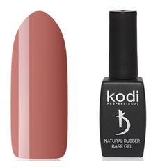 Kodi, База Natural Rubber Base, Dark Beige, 12 мл