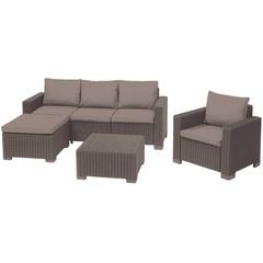 Комплект уличной мебели Allibert Moorea Set