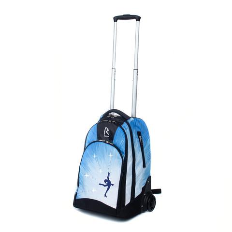 Сумка-рюкзак на колесиках «RUNA» Фигуристка Стразы