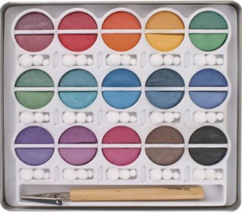 Меловые краски Pearlesent Chalks от Pebbles