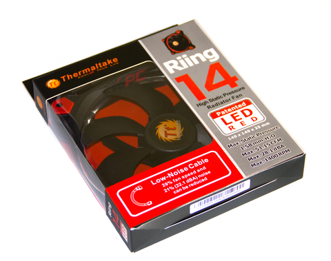 Thermaltake Riing 14 LED Red