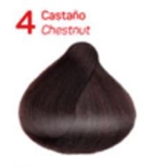 4 Каштановый. Краситель для волос с эффектом лифтинга KV-1