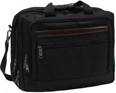 Сумка для ноутбука Bagland Бизнес 15 л. Чёрный (0044166)