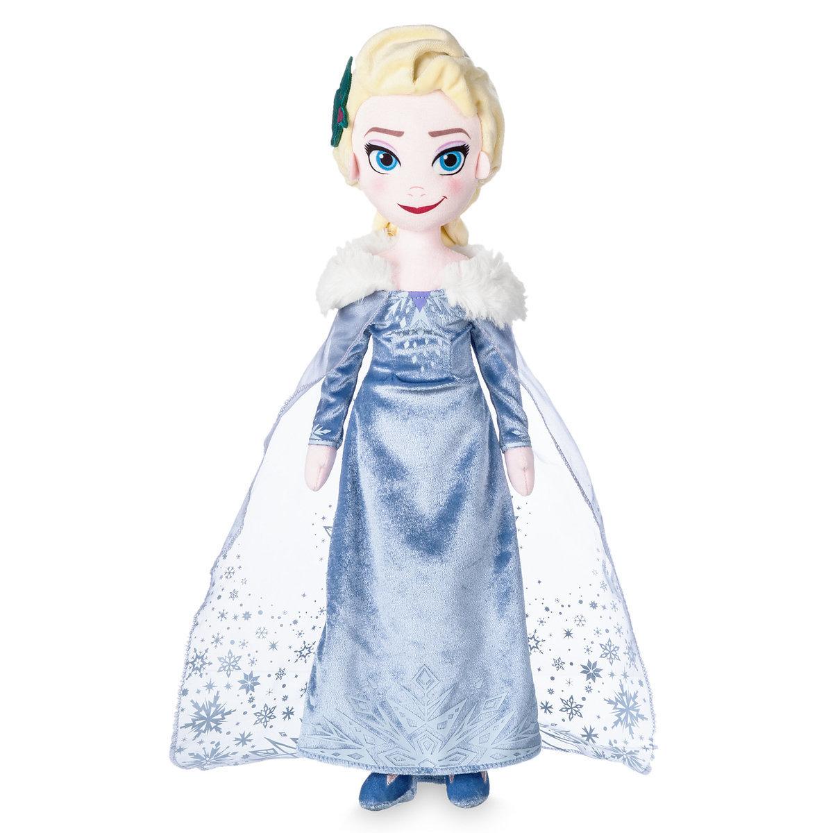 Мягкая игрушка Эльза Дисней - «Холодное приключение Олафа» - 48 см