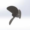 7018/3  WС Serie 3D Propeller 50-60cc steel