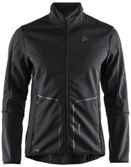 Элитная лыжная куртка Craft Sharp Softshell XC Black мужская