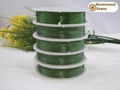 Проволока зеленая диаметром 0,3 мм