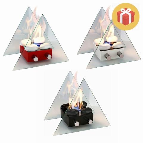 Подарочный набор с биокамином Lux Fire