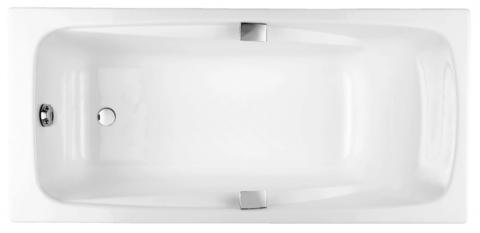 Чугунная ванна Jacob Delafon REPOS 180x85 с ручками